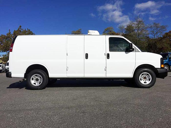 Chevy Express 2500 Van Side