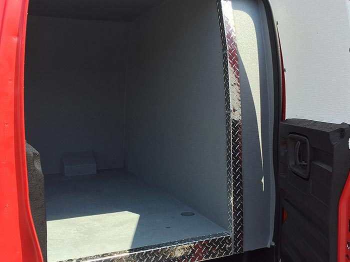 Chevy Express 2500 Van Rear Door