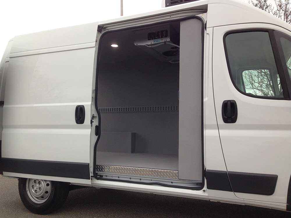 Dodge Promaster Van Side